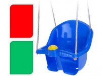 hojdačka detská s lanom, PH - mix farieb