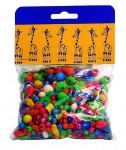 Mix perlí 70g farebný