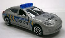 Auto policajné kovové, česká verzia