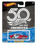 Hot Wheels prémiové auto - 50.let výročí - mix variant či barev