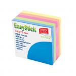 Samolepící bloček mix barev, neon, 76x76mm, 450 listů