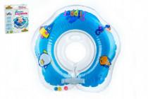 Plavací nákrčník Flipper/Kruh modrý v krabici 17x20cm