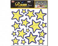 Hviezdy nalepovacie - svietiace v tme