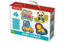 Puzzle baby Fisher-Price zvieratká