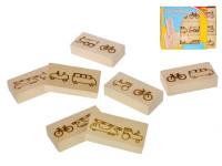Domino drevené vozidlá