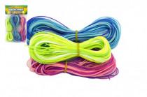 Zaplétač povrázky bužírky 80cm 60ks plast - mix farieb