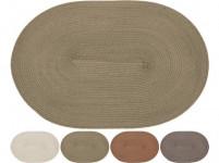 prestieranie plastové, OVÁL 44,5x29,5cm - mix farieb