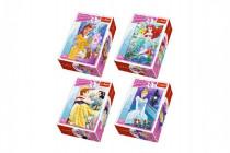 Minipuzzle Princess / Disney 54dílků - mix variantov či farieb