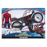 Hasbro Spiderman Akční motorka