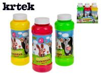 Bublifuk maxi Krtko 14cm 240ml plast - mix farieb