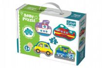 Puzzle baby Dopravné prostriedky