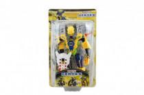 Robot bojovník plast 17cm 5 druhov