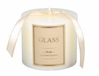 Sviečka GLASS VALEC vianočné d10x8cm
