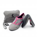 Skladacie topánky do kabelky Strand Pink