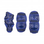 Spokey Aegis 3-dílná sada dětských chráničů, tmavě modré, vel. M