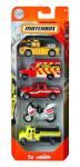 Matchbox 5 ks angličák hasiči - mix variantov či farieb