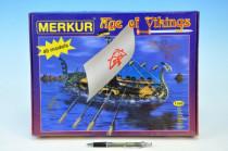 Stavebnica MERKUR Age of Vikings 40 modelov
