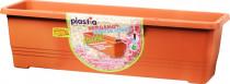 Plastia truhlík samozavlažovací Bergamot - teracota 80 cm