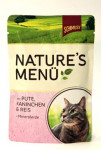 Schmusy Cat Nature Menu vrecko morka + králik 100g