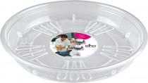 Elho miska Uni-Saucer - transparent 21 cm