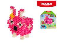 Mozaika vodní perly 3D 300ks plast zajíček s doplňky 5x6mm Paulinda Super Beads
