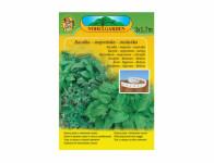 Pásik výsevný Bazalka zelená + Majorán + Medovka, 3x1,7m