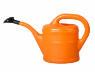 Konvička s růžicí plastová oranžová 1l