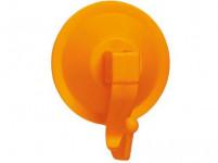 háčik s prísavkou 5,5cm plastový - mix farieb