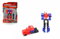 Transformer robot/auto plast 12cm - mix variant či barev