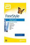 Proužky FreeStyle Optium 50ks Abbot
