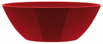 Elho obal Brussels Diamond Oval - lovely red 20 cm