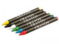 ceruzka vosková (6ks) - mix farieb