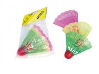 Badmintonové míčky/košíčky plast 11x17cm