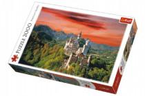 Puzzle Zámok Neuschwanstein, Nemecko 2000 dielikov 96x68cm