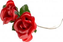 Prízdoba látková - ružička