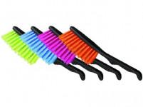 metlička CLIP plastový - mix farieb