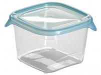 dóza FRESH & GO štvorcová 0,45l plastová