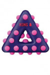 Hračka pes KONG Dotz trojuholník L