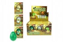 Vajcia liahnuce a rastúce dinosaurus plast 6cm - mix variantov či farieb