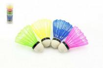 Loptička na badminton farebný 5ks v tube