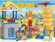 Stavebnice blok stavba plast