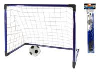 Fotbalová branka 80x50x63 cm s míčkem