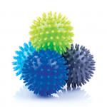 Spokey GRESPI II Masážní míčky 65 mm 4ks