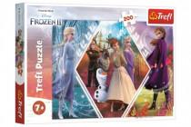 Puzzle Ľadové kráľovstvo II / Frozen II 48x34cm 200 dielikov