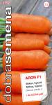 Dobrá semená Mrkva - Aron F1 veľmi skorá 1,5g