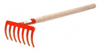 Hrabličky 7 Z s násadou 50 cm (75 cm) - oranžová