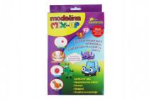 Plastelína / plastelína samotvrdnúca MIX-UP 100g + 5 farieb gélu