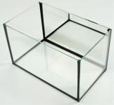 Akvárium lepené + zrkadlo na širšej stene Betta 25 x 15 x 15 cm