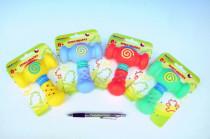 Kladivko pískačka guma 13cm - mix farieb