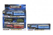 Teamsterz vlak s vagónom